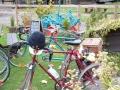 Alan's trike at Stowmarket Museum Cafe (AA)