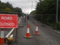 Carnwath roadworks