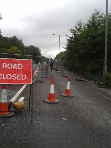Carnwth roadworks
