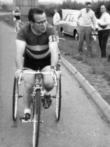 Terry Kelly waiting for Sharrow Fifty Start - 6th July 1969