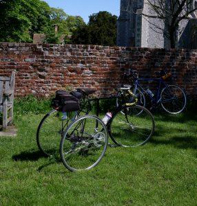 Martin's Flying Gate, with Swallow axle browsing on Heydon Green.